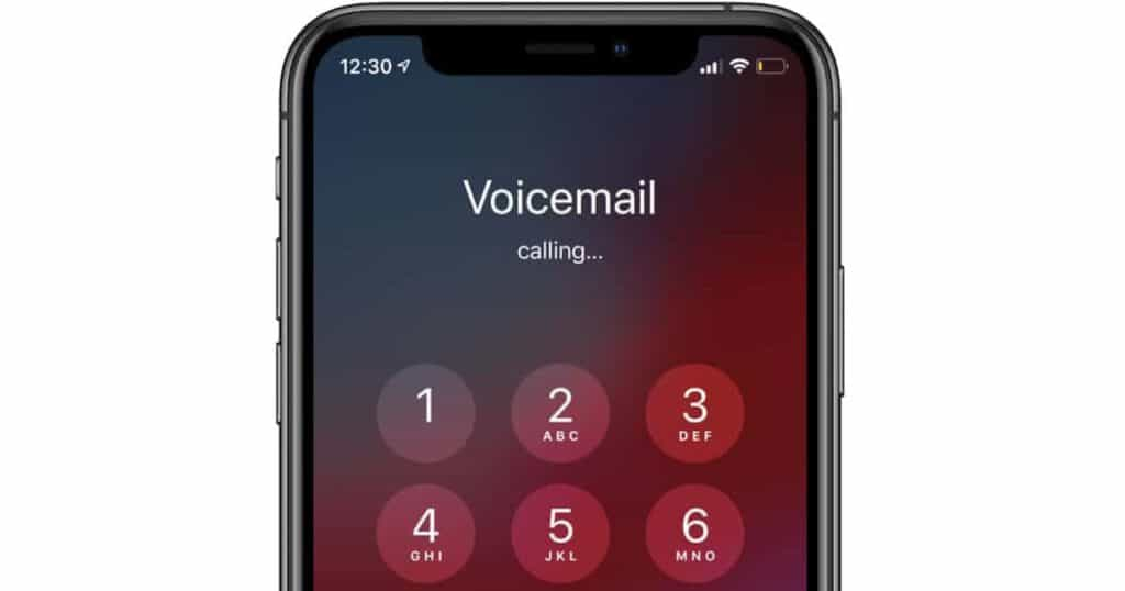 turn off voicemail iPhone